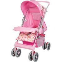 Carrinho De Bebê De Passeio Tutti Baby Magni Rosa