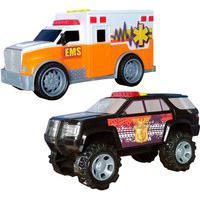 Carrinhos Resgate Fast E Polícia Star 1:20 Carrinhos Resgate Fast E Polícia Star 1:20