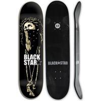 Shape De Skate Black Star Fiberglass Espinho 8.0 + - Unissex