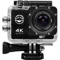"""Câmera De Ação Action Pro Sport 4K/ Wi-Fi/ Tf Card/ 2""""/ 12Mp- Preto"""