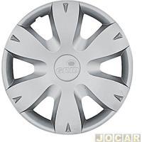 Calota Aro 14 - Grid - Logan/Sandero/Clio 2011 Até 2013 - Encaixe - Cada (Unidade) - 872Ar