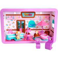 Playset E Mini Figuras - Twozies - Café Divertido - Dtc - Feminino-Incolor