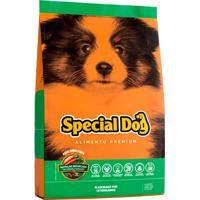 Ração Cães Filhote Special Dog Premium Vegetais Júnior 8Un 1Kg