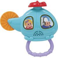 Helicóptero Musical Colorido - Buba