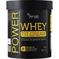 Yenzah Power Whey Fit Cream - Máscara Reconstrutora 1000G - Unissex-Incolor