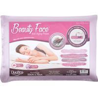 Travesseiro Duoflex Beauty Face Pillow Lilás