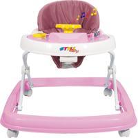 Andador Musical Styll Baby Rosa
