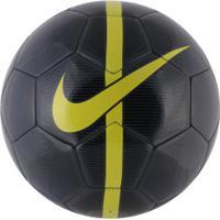 3ad7330542535 Bola De Futebol De Campo Nike Mercurial Fade Fa16 - Cinza Escuro Amarelo