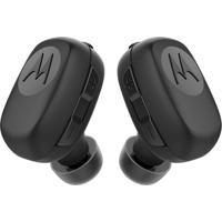 Fone De Ouvido Bluetooth Stream Preto Resistente Água Motorola Sh015