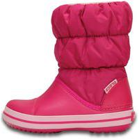 Bota Crocs Winter Puff Boot Kids Rosa