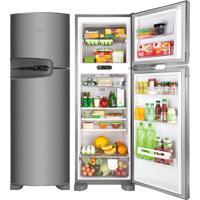 Refrigerador   Geladeira Consul Frost Free 2 Portas 386 Litros Inox - Crm42Nk