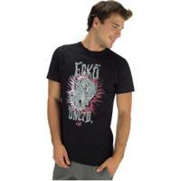 Camiseta Ecko Estampada E679A - Masculina - Preto