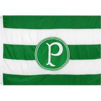 Bandeira Oficial Retrô Do Palmeiras 1,61 X 1,13 Cm - Unissex