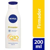 Loção Nivea Firmador Q10 200Ml Para Todos Os Tipos De Pele