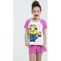 Pijama Infantil Minion Meu Malvado Favorito