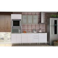 Cozinha Americana Modulada Completa Com 4 Módulos Branco - Art In Móveis