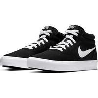 Tênis Nike Sb Charge Mid Canvas - Unissex-Branco+Preto