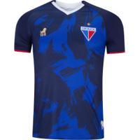 Camisa Do Fortaleza Aquecimento 2019 Leão - Masculina - Azul
