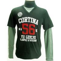 Camiseta Cortin Rdk Masc. M/L - Kappa