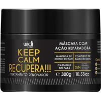 Máscara Widi Care Keep Calm Recupera 300G - Unissex-Incolor