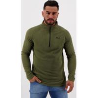 Blusão Fila Fleece Verde