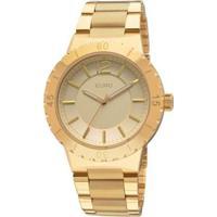 Relógio Euro Feminino Mazir Eu2036Aja/4D -Eu2036Aja/4D - Feminino-Dourado