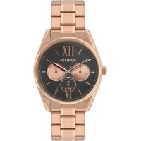 Relógio Euro Construções Rosé Feminino - Feminino-Rose Gold