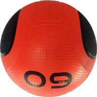 Bola Para Exercicios Medicine Ball Md Buddy 9Kg Md1275 Vermelho - Kanui
