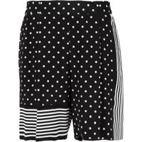 Stella Mccartney Shorts De Seda - Preto