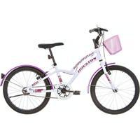 Bicicleta Houston Excel Aro 20 Branco