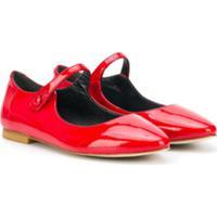 Bonpoint Belinda Ballerinas - Vermelho