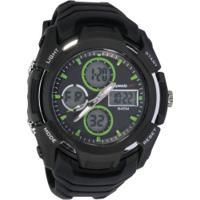 Relógio Digital Analógico Speedo 81166G0Ev - Masculino - Preto