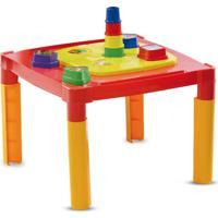 Mesa Com Quebra Cabeça Pedagógico Mk234 Dismat