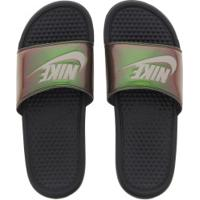 Chinelo Nike Benassi Jdi Print - Slide - Feminino - Preto