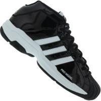 Tênis Adidas Pro Model 2G - Masculino - Preto/Branco