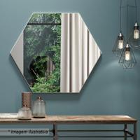 Painel Decorativo- Espelhado & Off White- 60X69X3Cmdalla Costa