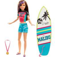 Barbie Explorar E Descobrir Skipper Surf - Mattel - Tricae