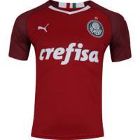 Camisa De Goleiro Do Palmeiras Iii 2019 Puma - Masculina - Vermelho