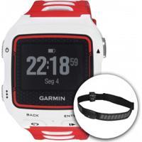 Monitor Cardíaco Com Gps Garmin Forerunner 920Xt + Cinta Peitoral - Branco/Vermelho