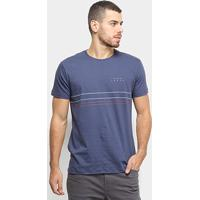 Camiseta Hang Loose Silk Tripleline Masculina - Masculino-Marinho