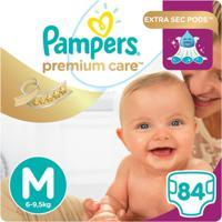 Fralda Pampers Premium Care Jumbo - Unissex-Incolor