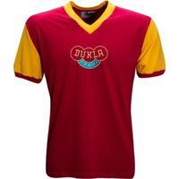 Camisa Liga Retrô Dukla Praga 1960´S - Masculino