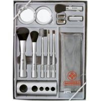 Kit De Pincéis Para Maquiagem Completo - Mundial Kit - Feminino-Incolor