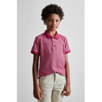 Camisa Polo Masculina Infantil Mini Pf Listra Wave Reserva Mini - Masculino