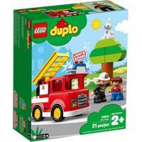 Lego Duplo - Caminhão De Bombeiro - 10901