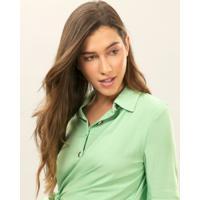 Camisa Manga Longa Amarração Verde Inspire - Lez A Lez