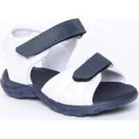 Papete Bicolor - Branca & Azul Marinho- Bambinibambini