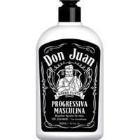Escova Progressiva Barba Forte Don Juan 300Ml - Unissex-Incolor