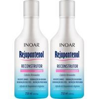Kit Shampoo + Condicionador Inoar Duo Rejupantenol Kit - Unissex-Incolor