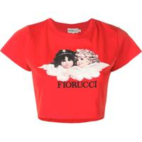 Fiorucci Vintage Angels T-Shirt - Vermelho